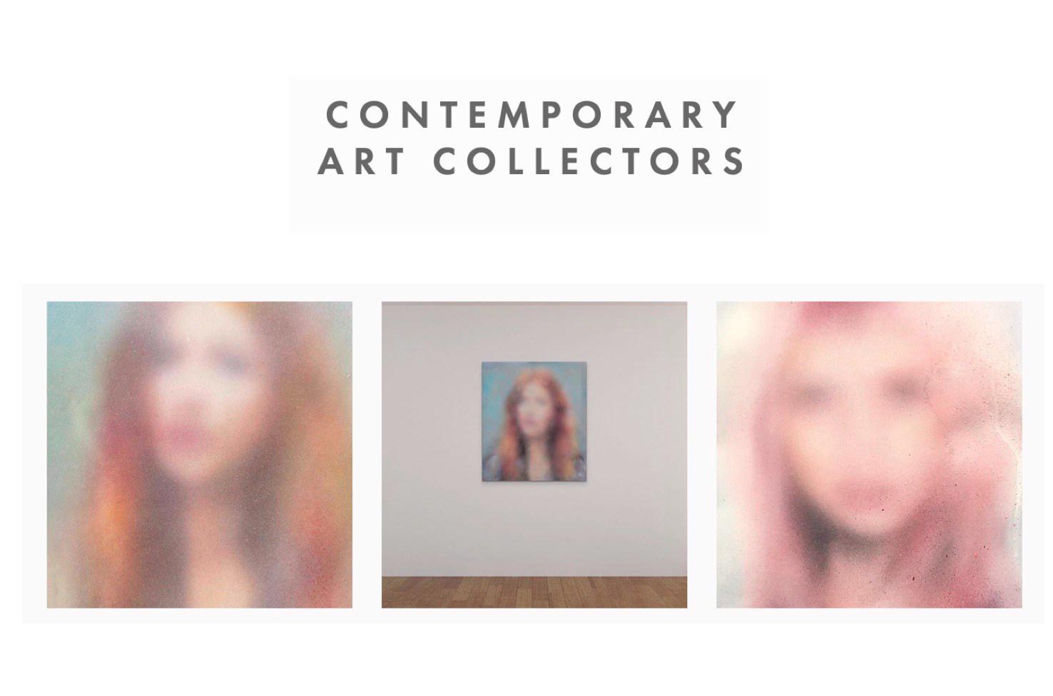 Contemporary art collectors